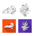 design of weather and climate icon vector image vector image