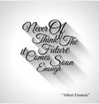 Inspirational Typo Text with Retro Style vector image