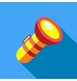 Lantern icon flat style vector image vector image