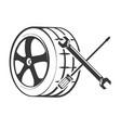 repair tires design vector image