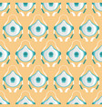 seamless pattern with medical masks vector image