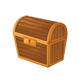 Treasure chest vector image vector image