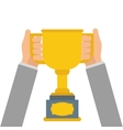 Trophy icon Winner design graphic vector image