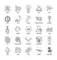 25 business concept mix line icon set