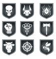 emblems of the team vector image