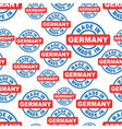 made in germany seamless pattern background icon vector image