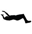 man falling down vector image