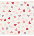 pattern of hearts to Valentines day vector image