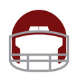 red helmet football equipment sport image vector image vector image