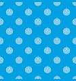 ripe smiling watermelon pattern seamless blue vector image vector image