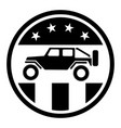 usa off road 4wd logo vector image vector image