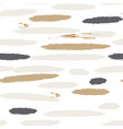 brushstroke lines pastel paint seamless vector image