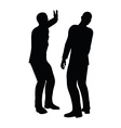 businessman slap vector image vector image