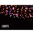 Lights vector image vector image