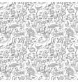 marine inhabitans vector image vector image