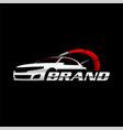 speed car logo template