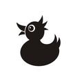 Black duck vector image