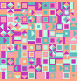 colorful geometric pattern background - abstract vector image vector image