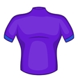Cycling shirt icon cartoon style vector image vector image