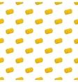 Haystack pattern cartoon style vector image vector image
