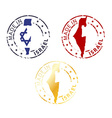 made in Israel stamp vector image vector image