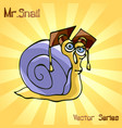 mr snail with master