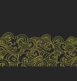 oriental ocean wave seamless background vector image