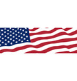 united states america flag vector image