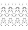 aphid contour pattern vector image