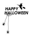 card invitation for halloween vector image vector image