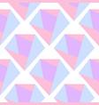diamond seamless crystal abstract gemstone pattern vector image