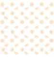 lemons pattern background vector image