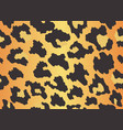 leopard texture seamless print with wild animal vector image vector image