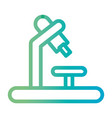 line science microscope equipment tp biology vector image vector image