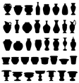 pots and pottery vector image