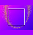 purple abstract background with white frame vector image vector image