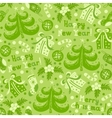 Seamless pattern Happy New Year vector image