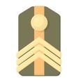Shoulder straps icon cartoon style vector image vector image