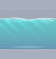 underwater background in graphics vector image