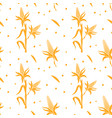 seamless pattern with corn design template for vector image