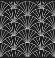 art deco retro gatsscales seamless pattern vector image