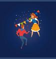 festa junina traditional brazil june festival vector image vector image