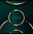 Gold banner abstract background board for text
