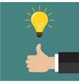 Great Idea Business idea concept vector image vector image