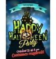 Grunge Halloween background EPS 10 vector image vector image