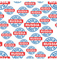 made in russia seamless pattern background icon vector image vector image