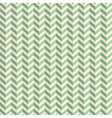Seamless Retro Abstract Green Toothed Zig Zag vector image vector image