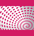 spiral dots vector image vector image