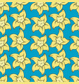 vanilla seamless pattern in cartoon style vector image