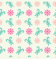 xmas sweets seamless pattern for holiday vector image